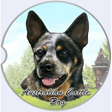 Australian Cattle Dog Auto Coasters