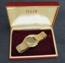 Vintage Elgin LCD Watch WK810-HH12