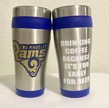 La Rams Customized Handmade Coffee Travel Mug (waterproof)