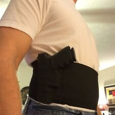 Gun Holsters Belly Band Holster for Concealed Carry Black Men & Women size Small