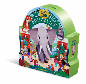 Day at the Museum Jigsaw Puzzle 48 pc - Zoo by Crocodile Creek 4 +