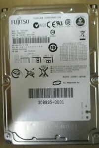 Fujitsu - MHW2040AT / CA06821- 2.5inch, 4200RPM, 40GB Mobile HDD