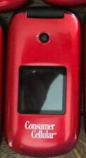 Consumer Cellular Huawei U3900  Red  for Seniors (20-180-188)