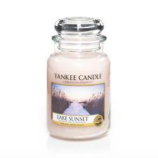 Yankee Candle Jar Glaskerze groß 623g Lake Sunset