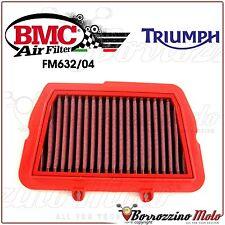 FILTRE À AIR SPORTIF LAVABLE BMC FM632/04 TRIUMPH TIGER 800 XC 2011 2012
