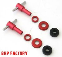ORIGINAL CLASSIC MINI 1275 RED ALLOY T BAR AND WASHER ROCKER COVER KIT Z1023