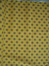 Fabric- Yvonne, Sungold,  Bright Yellow background
