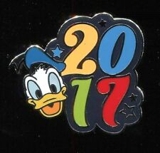 2017 Dated Character Booster Donald Duck Disney Pin 119502