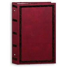 """Photo Album 3 Ring Pocket  Picture Book 4x6"""" Holds 504 Burgundy New (Pack of 6)"""