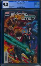 Sword Master 1 (Marvel) CGC 9.8 White Pages Premier issue