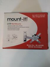 Mount It MI405 Monitor Wall Mount Full Motion VESA Stand for LCD