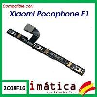 BOTON DE ENCENDIDO Y VOLUMEN PARA XIAOMI POCOPHONE F1 ON OFF FLEX CABLE POWER