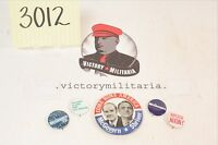 Large Grouping of Vintage Campaign Pinbacks