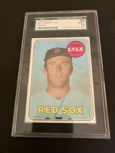 1969 Topps # 311 Sparky Lyle Rookie SGC 92 or NMMT+  8.5