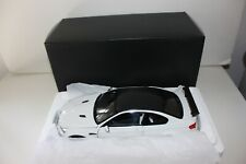 KYOSHO ORIGINAL 1/18 - BMW M3 E92 GTS ALPINE WHITE COUPE CARBON ROOF - 08739W