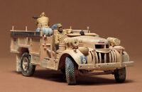 Tamiya 35092 1/35 Model Kit British LRDG Command Car Chevrolet 4x2 30cwt Truck