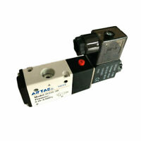 "3V210-08 3Way2 Position 1/4"" Port Airtac Pneumatic Air Solenoid Valve DC24V"