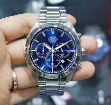 Seiko Alba AT3B31X1 Stainless Steel Quartz 100M WR  Mens Chronograph Watch