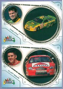 Lot Of 2 ~ 1999 Maxx Racing Images # RI 22 & RI 27 CHAD LITTLE & ELLIOTT SADLER