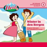 HEIDI - 02: WINTER IN DEN BERGEN  CD NEW