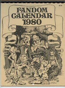 Fandom Calendar 1980 mini comic artists Sim Pini Foster1980 VF