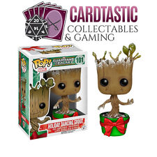 POP Guardians of the Galaxy Holiday Dancing Groot Metallic (RS)