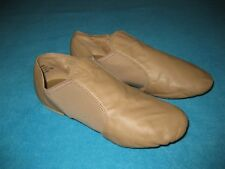 Capezio Jazz Dance Shoes Tan Leather Size 101/2