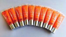 Lot of 10 Victoria's Secret BEAUTY RUSH Flavored Lip Gloss ~ Citrus Kissed