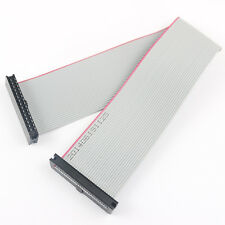 2Pcs 2mm 2.0mm Pitch 30 Pin 30 Wire Extension IDC Flat Ribbon Cable Length 20CM
