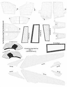 1/72 scale Early Era Shuttle Orbiter White Tile Decal Set