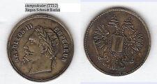 Napoleon III. Spielmarke Rechenpfennig ca. 21 mm ca. 3,04 g (TT12) stampsdealer
