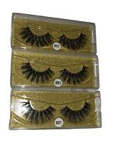 eyelashes 3 pairs