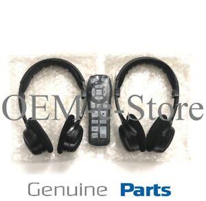 2003-2007 Dodge Grand Caravan Overhead DVD System Wireless Headphones Remote Kit