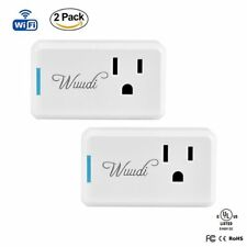 2 Pack Wi-Fi Smart Plug Mini Control from Anywhere work with Alexa UL FCC Timing