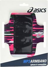 ASICS adults Mp3 arm tube, bracelet, Run, Sport impulses Cosmo Pink, One Size