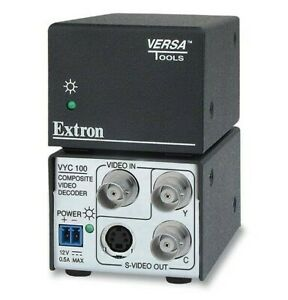 Extron VYC100 S-Video / YC To Composite Video to S-Video Decoder 33-838-01 B