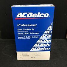 AcDelco Spark Plug Wire Set 9748UU For Chevrolet GMC Cadillac Pontiac 09-15