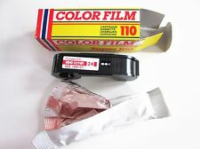 Pack of 10 Vintage 110 colour camera film for Lomography