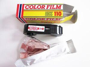 Pack of 10 Vintage 110 colour camera film for Lomography