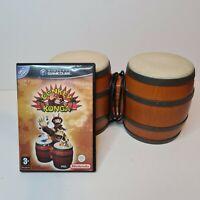 Donkey Konga Nintendo GameCube with Bongos fully tested great fun