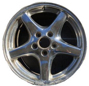 "Pontiac Firebird Trans Am 17"" WS6 Polished Wheel Rim Factory Stock OEM Original"