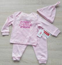 """Baby Mädchen Kleid Set 3tlg Anzug 🐞 PULLI HOSE MÜTZE 🐞 """"KLEINE PRINZESSIN"""""""