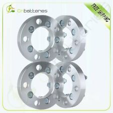 """4X 1"""" 25mm 5x4.5 to 5x100 Wheel Spacers Adapter 12x1.5 For Chrysler PT Cruiser"""
