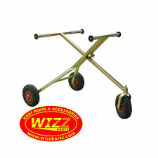 NEW GO KART TROLLEY / STAND / TKM ROTAX / FREE NEXT DAY DELIVERY WIZZ KARTS