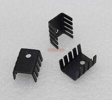 100pcs Heat Sinks 7805 IC Heatsink 19x15x10mm