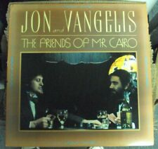 JON & VANGELIS The Friends of Mr. Cairo LP OOP early-80's synth-pop Yes