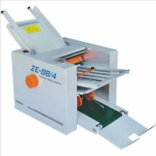 310*700 mm Paper 4 Folding Plates Auto Folding Machine ZE-8B/4