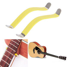 2Pcs Guitar Bass String Spreaders For Polish Cleaning Fretboard Fret 85x10mm