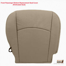 2011 2012 Dodge Ram 1500 Laramie PASSENGER Bottom Perforated Leather Cover Tan