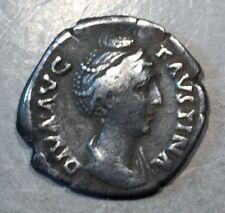 ANCIENT ROME  Faustina Senior Silver Denarius Rome Mint   #A461